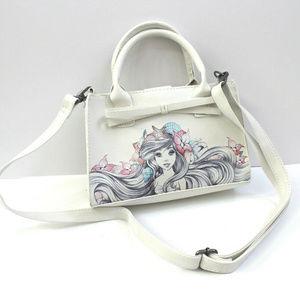 Disney the Little Mermaid Ariel Bow Handbag Purse